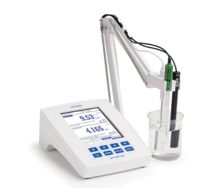 HI5522-02 | Laboratory Research Grade Benchtop pH/mV/ISE and EC/TDS/Salinity/Resistivity Meter
