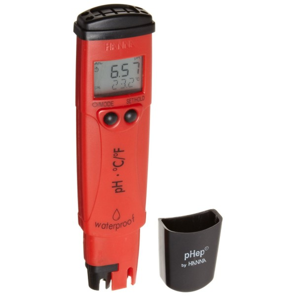 HI98128 pH/Temperature Tester with 0.01 pH Resolution - pHep®5