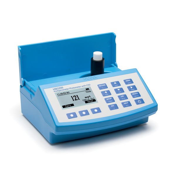 HI83399-02 | Water & Wastewater Multiparameter (with COD) Photometer and pH meter |