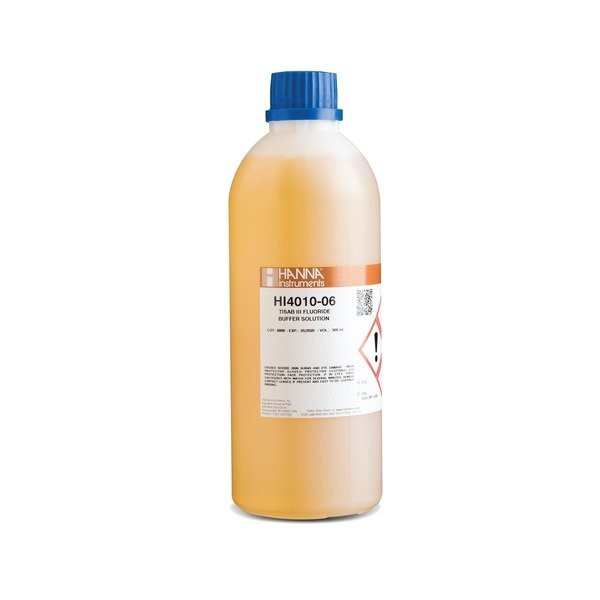 HI4010-06 TISAB III Concentrate for Fluoride ISE's (500ml)
