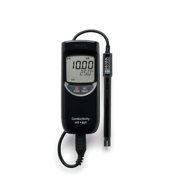 HI99301 | Portable High Range EC/TDS Meter
