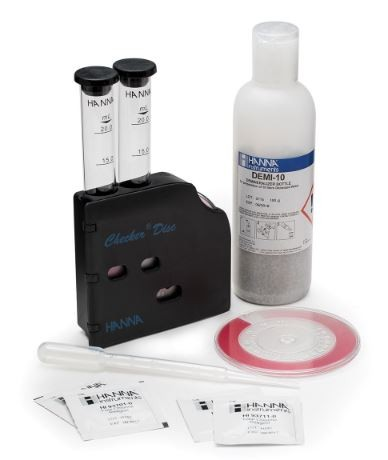 HI38020 Free and Total Chlorine Low, Medium and High Range Test Kit