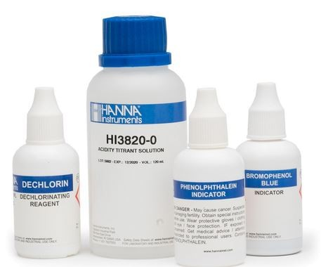 HI3822-100 Sulfite Test Kit Replacement Reagents (110 tests)